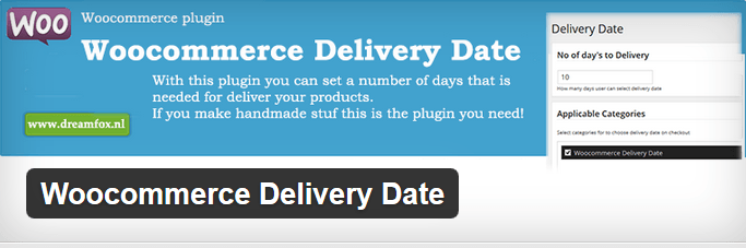 3 Delivery Date Plugins for WooCommerce