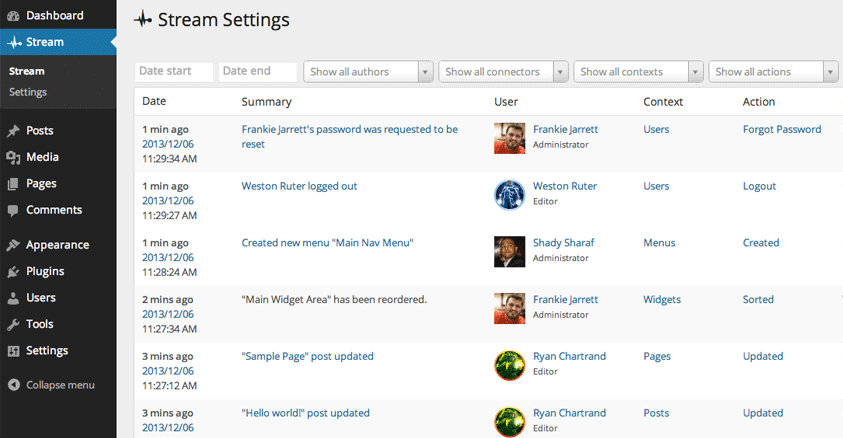 Tracking User Activity in WordPress: 4 Plugins