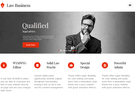 15 WordPress Themes for Lawyers & Legal Professionals