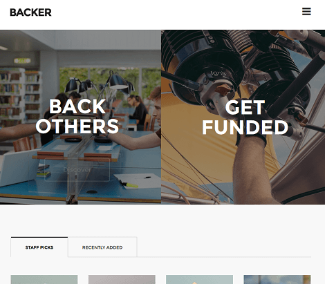 Backer Crowdfunding Theme for WordPress