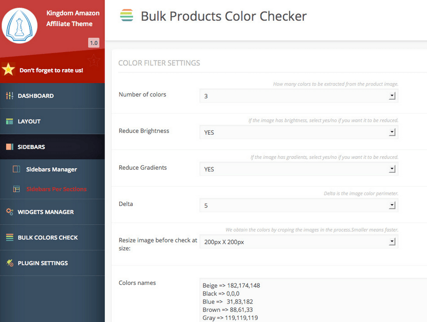 bulk product