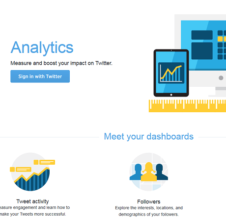 how to see twitter analytics