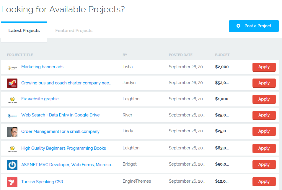FreelanceEngine: Freelance Marketplace Theme