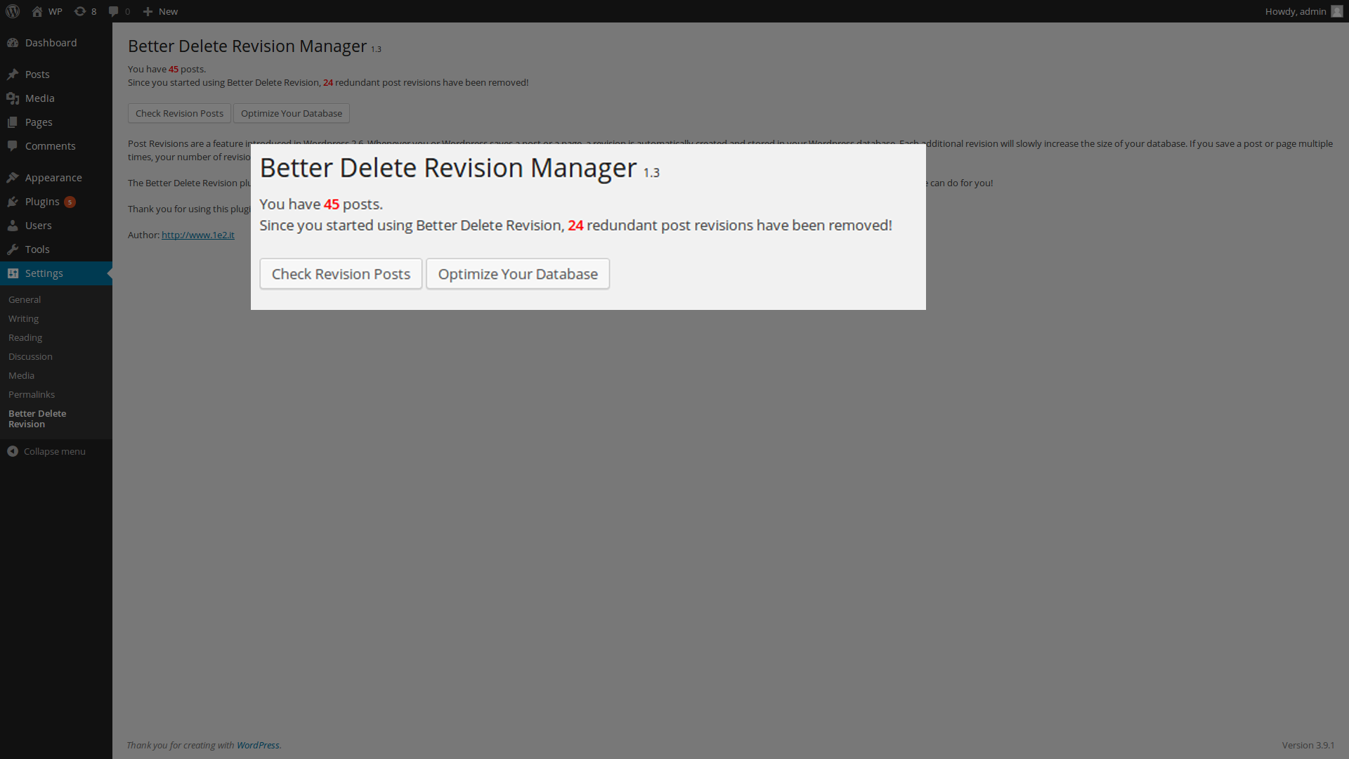 revision manager