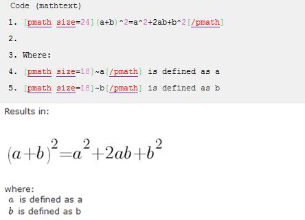 wpmathpub: Display Mathematical Equations In WordPress