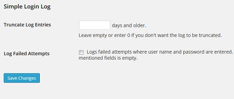 simple login