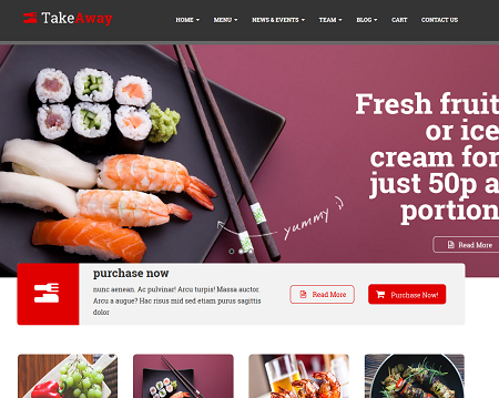 TakeAway Food Ordering WooCommerce Theme