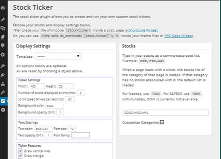 3 Stock Ticker Plugins for WordPress