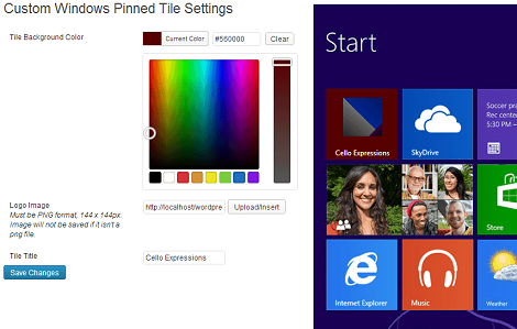 How To Create Live Tiles For WordPress Sites