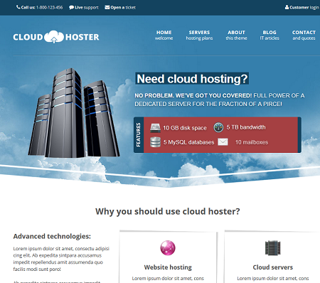 cloud hoster