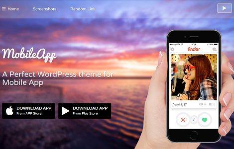MobileApp Theme: Promote Your App