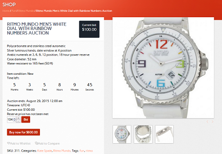 5 WordPress Themes for Auction Sites