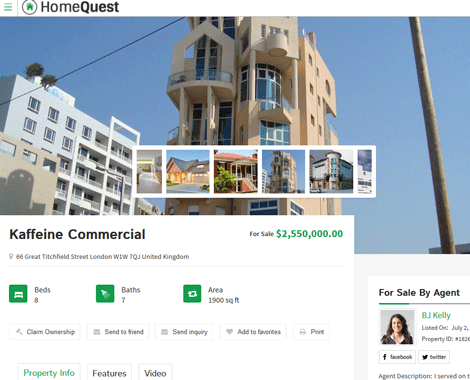 HomeQuest: Real Estate Directory Theme