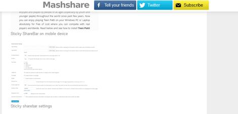 How to Add a Sticky ShareBar to WordPress