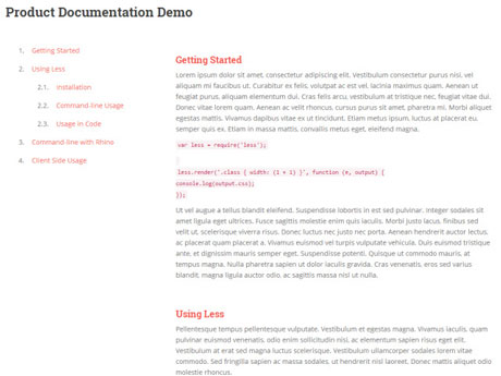 Documentor for WordPress: Create a Product Guide