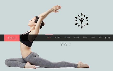 7 Yoga Themes for WordPress
