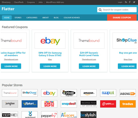 Flatter: Premium Child Theme for Coupon Sites
