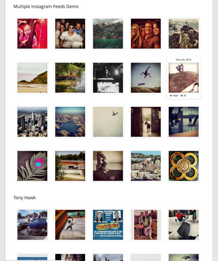 13+ Instagram Plugins for WordPress
