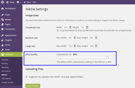 2 WordPress Plugins to Control JPEG Quality