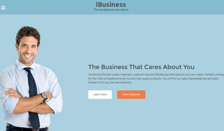 iBusiness for WordPress With Visual Composer