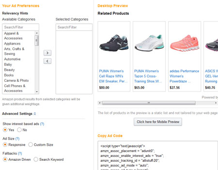 WordPress Tip: Add & Customize Native Shopping Ads from Amazon