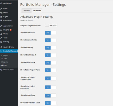 Behance Portfolio Manager for WordPress