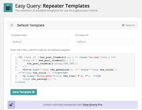 Easy Query for WordPress: Custom Query Builder
