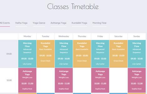 Yoga Fit: WordPress Theme for Yoga & Fitness Sites