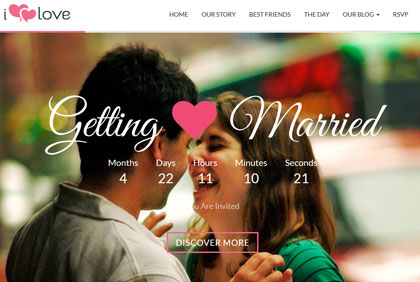 20 Attractive WordPress Themes for Wedding Events