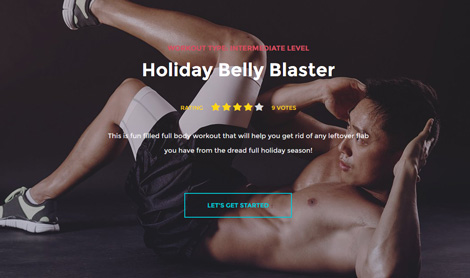 In Shape: Fitness Theme for WordPress