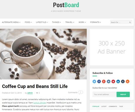 post-board