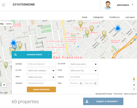 EstateEngine: Drag & Drop Real Estate Theme
