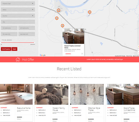 Realtor: Real Estate WordPress Theme