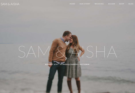 Union: WordPress Theme for Weddings & Events