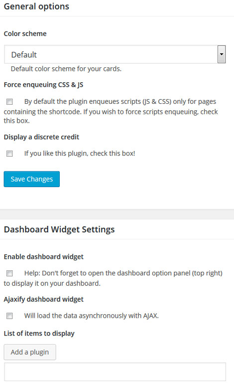 WP Plugin Info Card: Display WordPress Plugin Data On Your Site