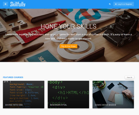 Skillfully WordPress Theme: Sell Online Courses