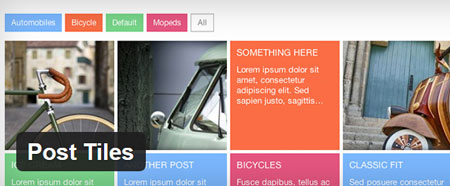 3 Post Tiles Plugins for WordPress