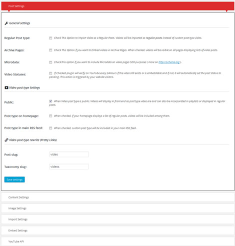 YouTube Video Importer for WordPress