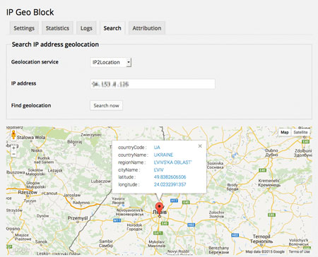 IP Geo Block for WordPress: Block Spammers