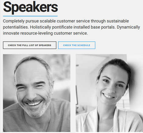 Eventim: WordPress Theme for Conferences