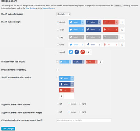 Shariff Wrapper Social Media Plugin with Privacy Features