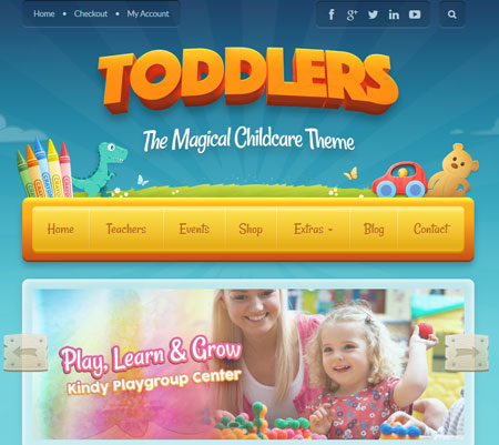 8 Child Care Themes for WordPress