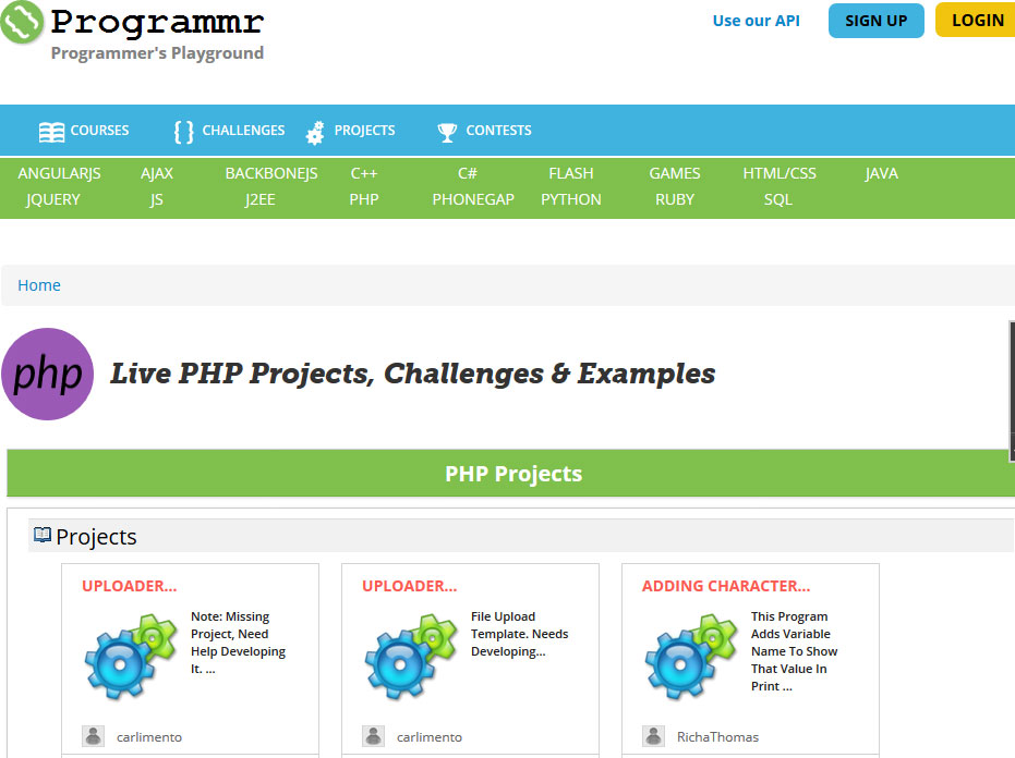 6 Websites to Learn PHP Coding Interactively / with Video