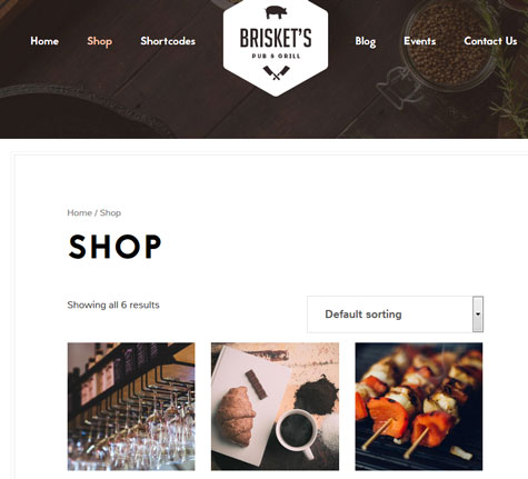 Brisket: Responsive Genesis / Thesis Theme for Restaurants