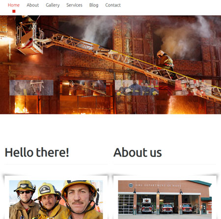 fire-department-theme