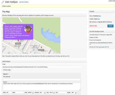 Image Map HotSpot Plugin for WordPress