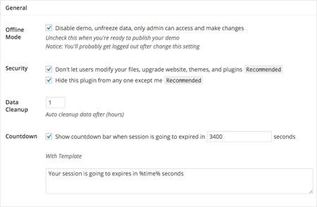 5 Demo Plugins for WordPress