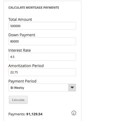 Responsive-Mortgage-Calculator