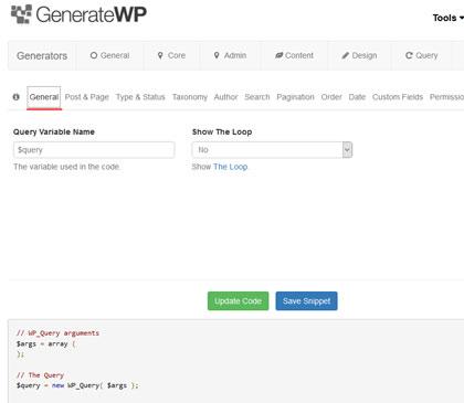 generate-wp