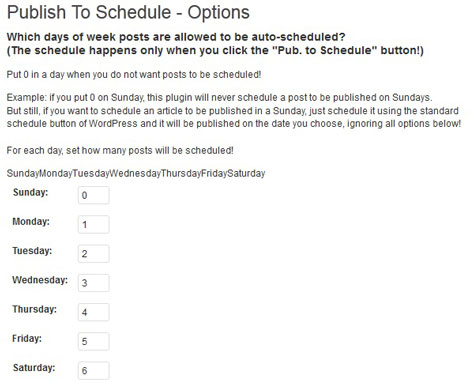 Publish-to-Schedule